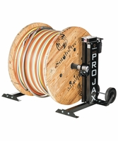 Southwire MPJ-02 Maxis Pro-Jax - 6,000 Lbs. Capacity Portable 60 In. Reel Stand (Pair)