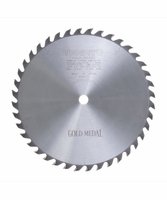 """Tenryu GM-25540 10"""" Gold Medal Woodworking Blade 40T 5/8"""" Arbor"""