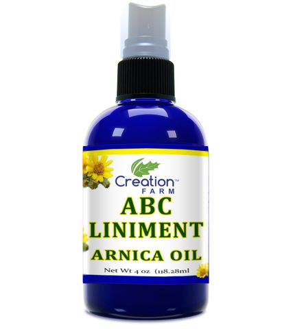 ABC Arnica Liniment 4 oz