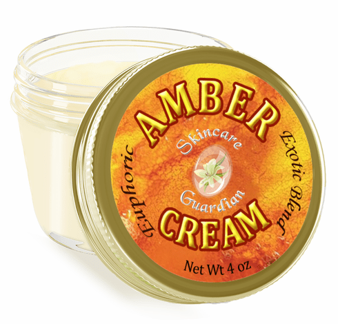 "Amber  Cream 4 oz. ""The Mystic"""
