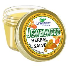 Jewelweed Salve Jar-Formerly known as Ancient Healer Salve