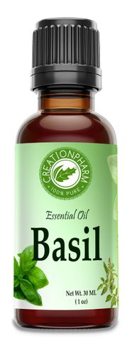 Basil Essential Oil 30 ml  (1 oz)