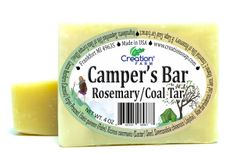 Campers Soap Bar / Coal Tar All-In-One 2 Bar Pack (Min 8 oz total)