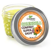 Calendula Comfrey  Salve Jars 24 units (1/2 case)