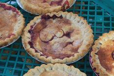 Fresh Baked Berry Pies