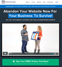 14 DAY FREE TRIAL - Great new way to sell online without having to build a website- works for all businesses!