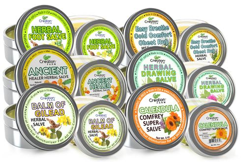 Herbal Salves and Skincare - Bulk Discounts