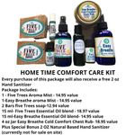 Home Time Comforts Deluxe Package- All this for only  $79.00 includes Free Shipping