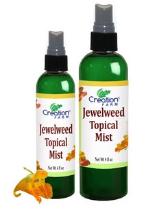 MOSQUITO BITE & POISON IVY RELIEF- JEWELWEED SPRAY, SALVE, OR SOAP