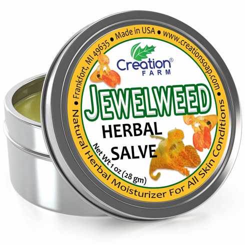 Jewelweed Salve 4oz Tin- Formerly known as Ancient Healer Salve