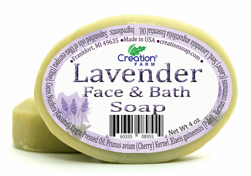 Lavender Complexion:Lavender Face & Bath Soap 2 Bar Pack (8 oz)