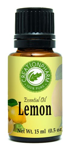 Lemon Essential Oil 15 ml (0.5oz)