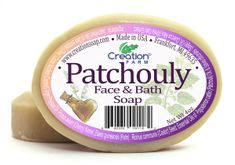 Patchouly Face & Bath Soap 2 Bar Pack (8oz)