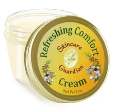 "Refreshing Comfort Cream 4 oz. ""Sunshine Guardian"""