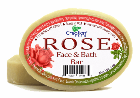 Rose Face & Bath Soap, for Complexion