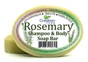 Rosemary Shampoo Body Bar, All-In-One, 12 count case * 2.45 per bar