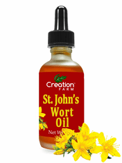St. John's Wort Oil - Hypericum Perforatum Infused Oil