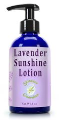 Lavender Sunshine Lotion, 8 oz.