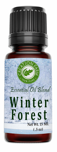 Winter Forest Aromatherapy Essential Oil Blend 15 ml