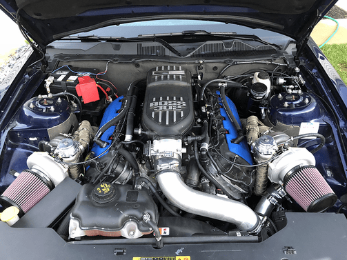 11-14 Mustang GT Breather Tank System Plug N Play ™