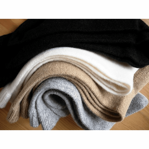 100% Cashmere Bed socks-Women