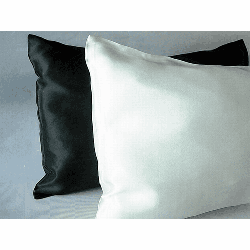 Baby/Toddler travel size pillow w/silk pillowcase
