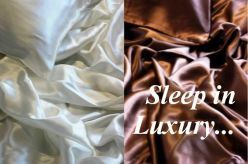 Need 100% Silk sheets to go with your pillowcases?