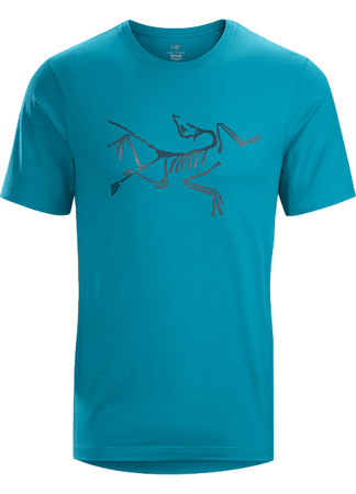 Arc'teryx Mens Archaeopteryx T-Shirt Short Sleeve Dark Firoz (Close Out)