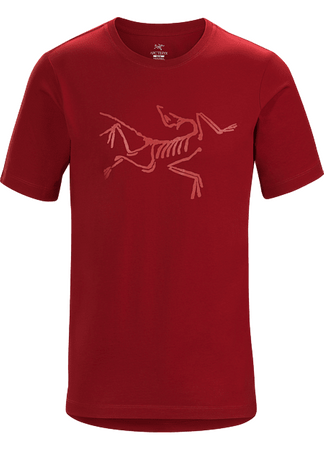 Arc'teryx Mens Archaeopteryx T-Shirt Short Sleeve Red Beach