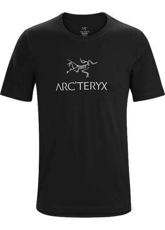 Arc'teryx Mens ArcWord T-Shirt Short Sleeve Black