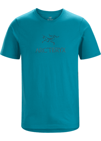 Arc'teryx Mens ArcWord T-Shirt Short Sleeve Dark Firoza