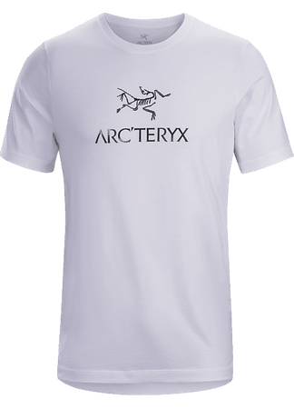 Arc'teryx Mens ArcWord T-Shirt Short Sleeve White