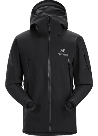 Arc'teryx Mens Beta SV Jacket Black