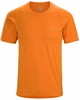 Arc'teryx Mens Cormac Crew Short Sleeve Beacon