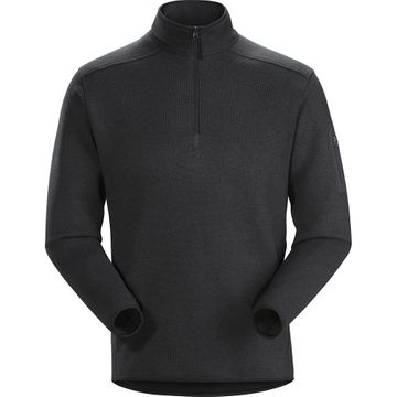 Arc'teryx Mens Covert 1/2 Zip Black Heather