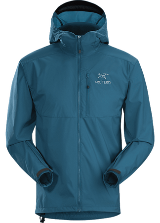 Arc'teryx Mens Squamish Hoody Iliad (close out)