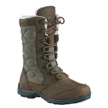 Baffin Womens Cortina Boots Brown (Close Out)