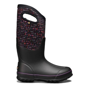 Bogs Womens Classic Tall Twinkle Black Multi