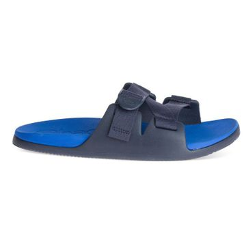 Chaco Mens Chillos Slide Active Blue