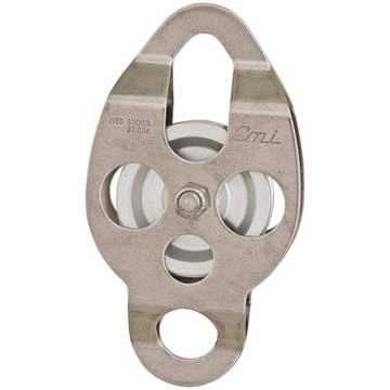 "CMI 2 3/8"" SS Aluminum Sheave Bear Double Ended"