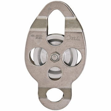 "CMI 2 3/8"" SS Aluminum Sheave Bush Double Ended"
