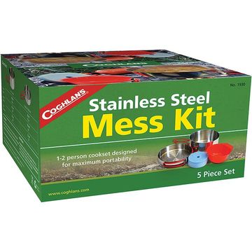 Coghlans Stainless Steel Mess Kit