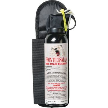 Frontiersman Bear Deterrent 8.1oz with Hip Belt