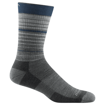Darn Tough Frequency Crew Lightweight with Cushion Gray