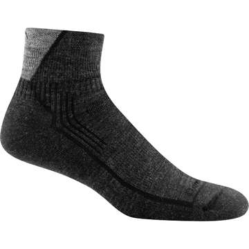 Darn Tough Hiker 1/4 Sock Cushion Black