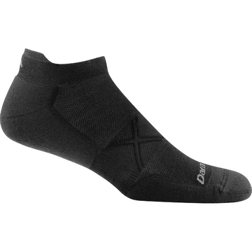 Darn Tough Mens Vertex No Show Tab Ultra Light Black