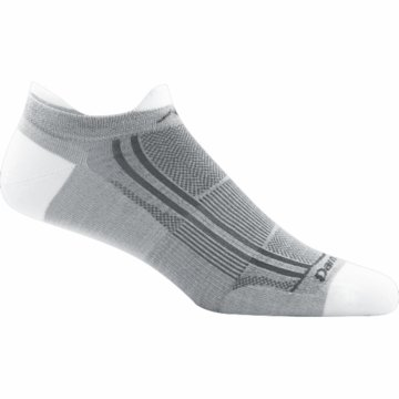 Darn Tough Racer Mini Tab Ultra Light Light Grey White (Close Out)