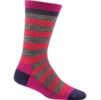 Darn Tough Womens Good Witch Light Roxanne Raspberry