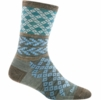 Darn Tough Womens Greta Crew Light Aqua