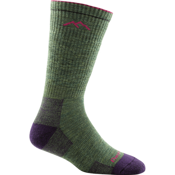 Darn Tough Womens Hiker Boot Sock Cushion Moss Heather